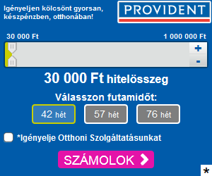 Használja a Provident hitelkalulátorát