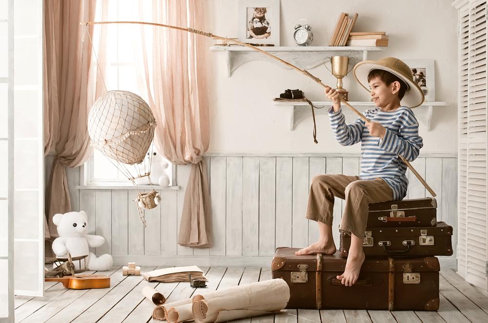 Gyerek szoba díszités, dekorlálás, paraktikus ötletek