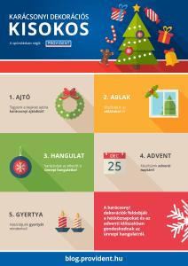 Dekorációhoz karácsonyi ötletek