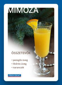 Narancsléből koktél újév ünnepére