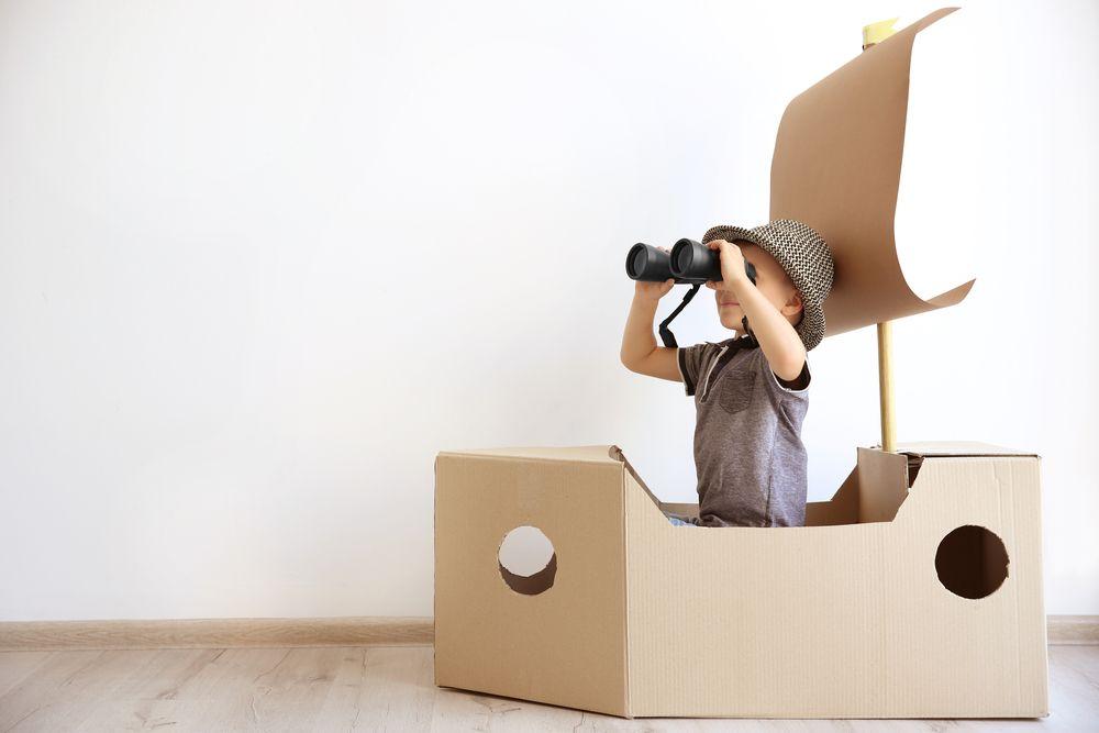 Kreatív játékok papírdobozból