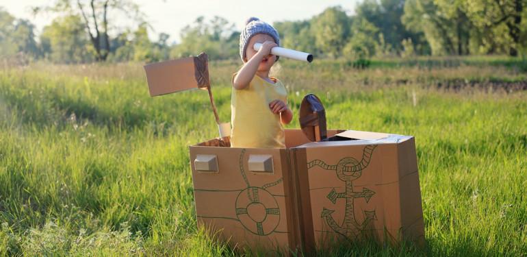 DIY kerti játékötletek gyerekeknek