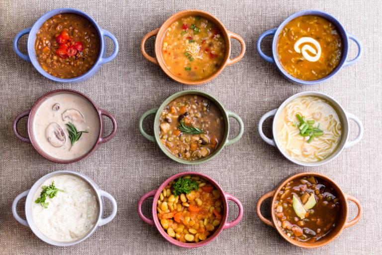 külföldi ételek