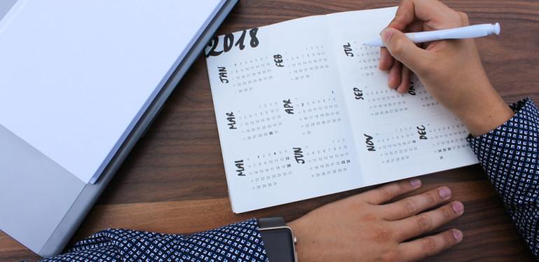 Készíts tervet a jövőre, kezdd tudatosan 2018-at!