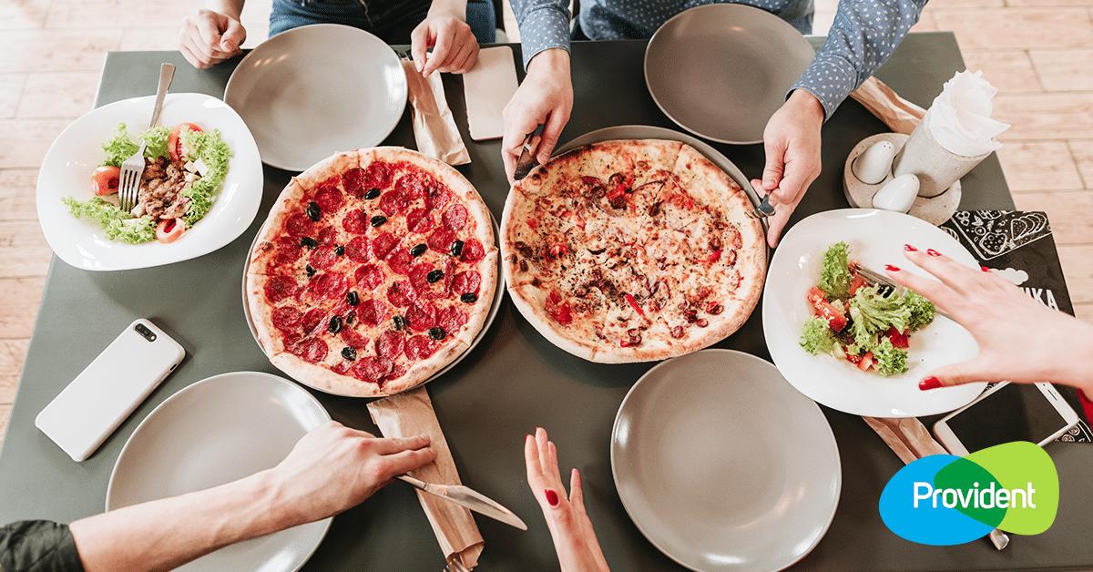 pizzázás provident