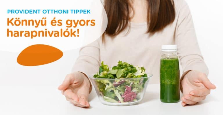 egyszerű saláta receptek