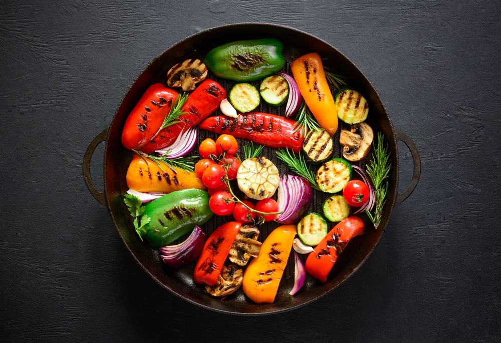grillezett zöldség