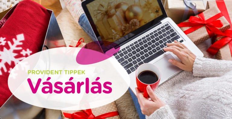 Online karácsonyi ajándék vásárlás