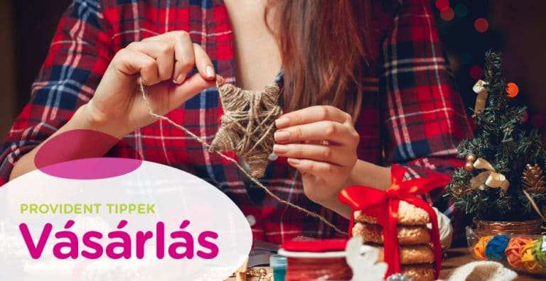 Tudatos vásárlás - DIY karácsonyi díszek