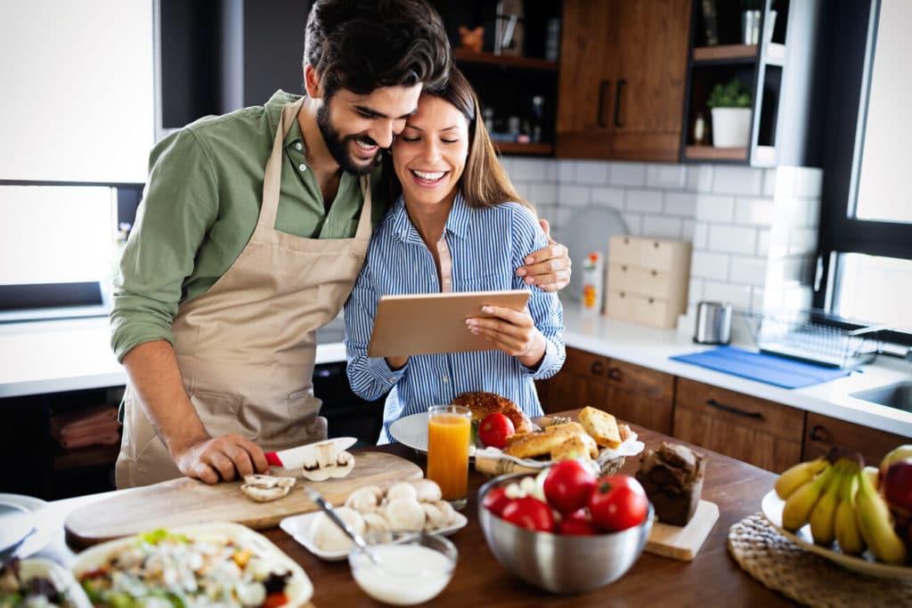 Egy konyhai tablet megkönnyítheti mindennapjaidat!