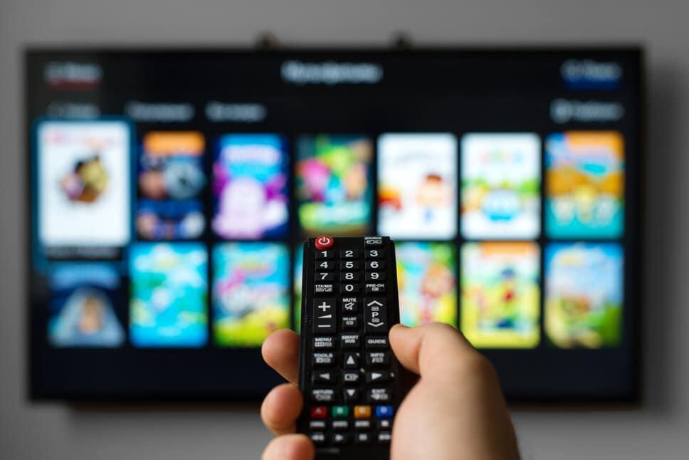 Okos TV az otthonában