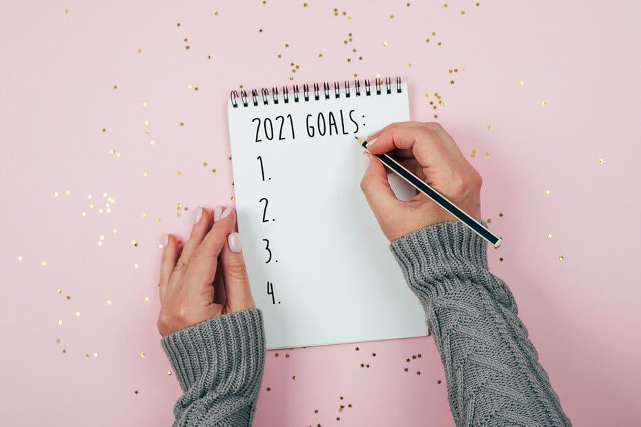 Újévi fogadalmak tervezése és követése