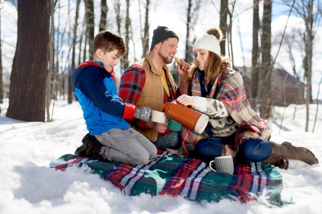 Piknikezni télen is jó!