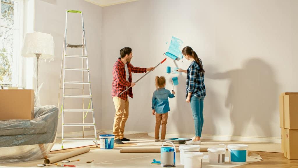 Télen is jó döntés a festés és a lakásfelújítás!