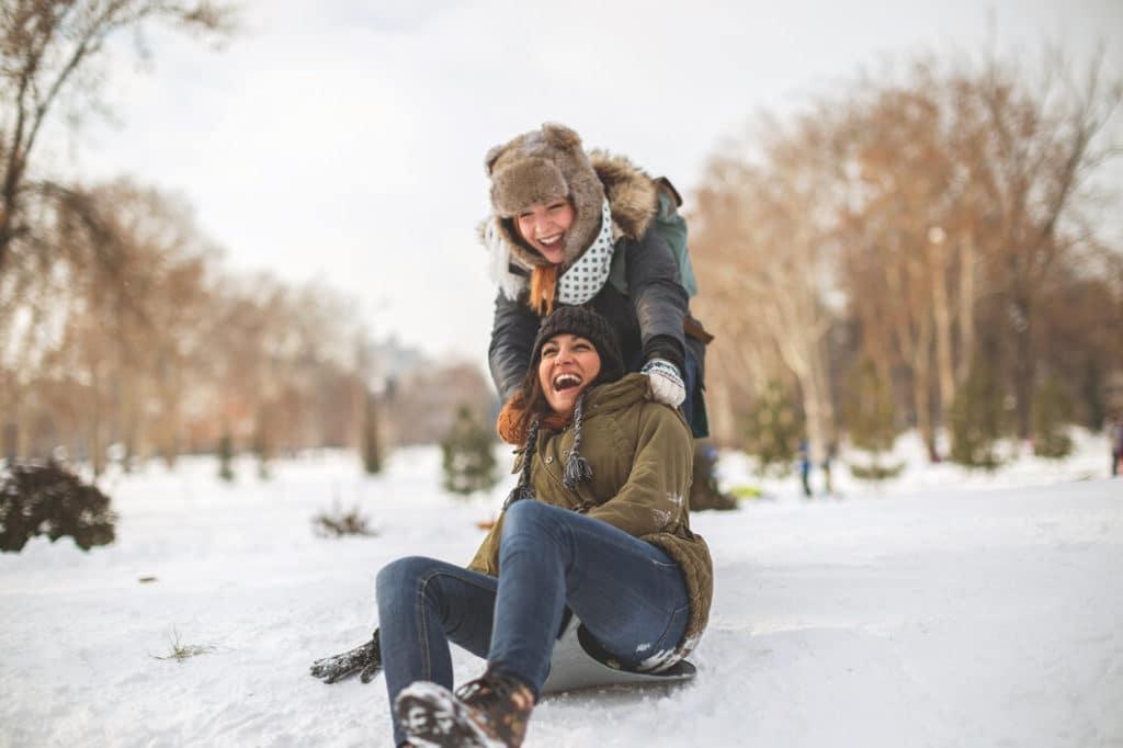 Szánkózz télen Magyarországon