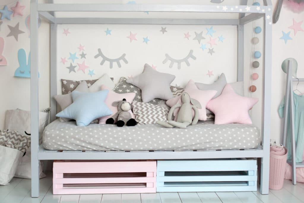 Saját tervezésű gyerekszoba bútor