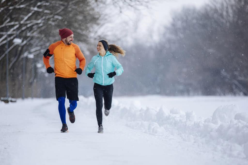 Futás télen a szabadban