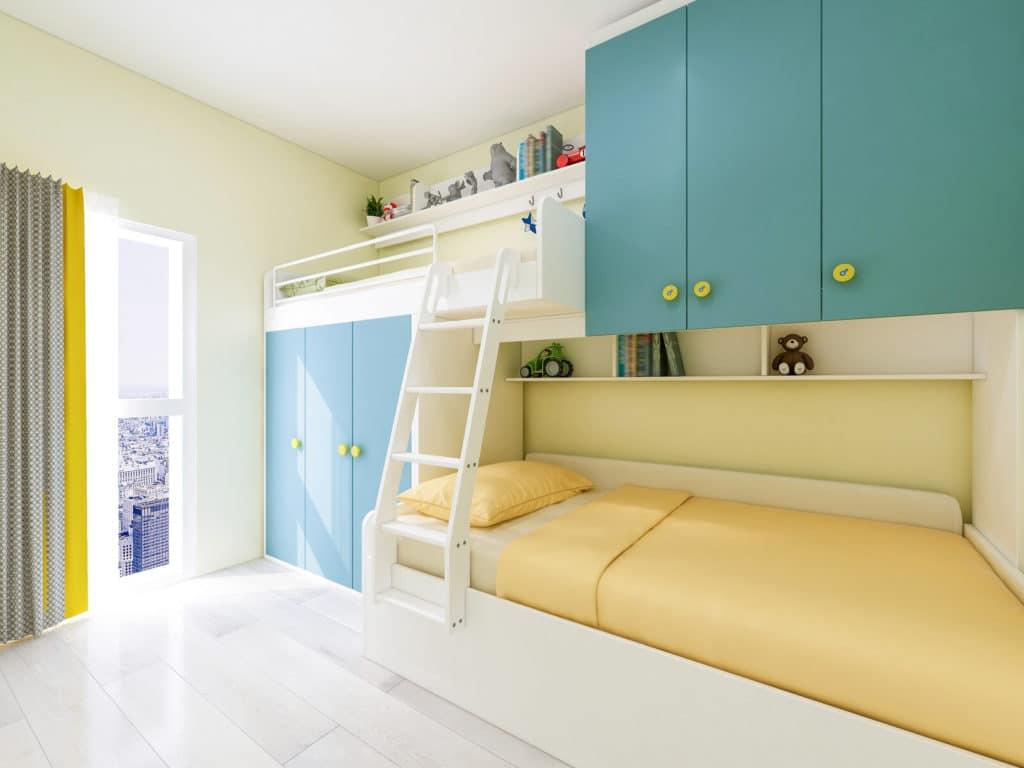 Gyerekszoba emeletes ágy
