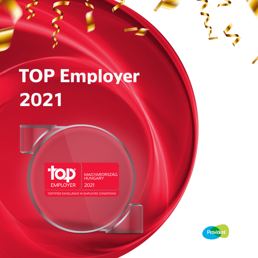 TOP Employer 2021: Provident
