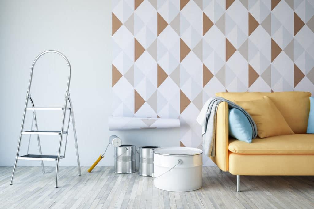 Tapétázás mint otthoni dekoráció