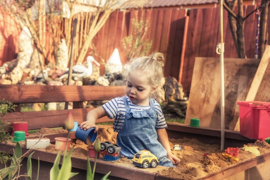 Készíts gyermek homokozót házilag!