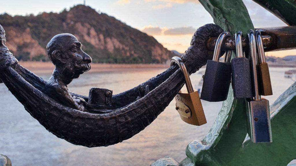 Kolodko szobor a Szabadság hídon